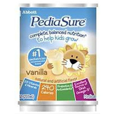 ROSS NUTRITIONAL PEDIASURE LIQ INSTITU-USE VAN
