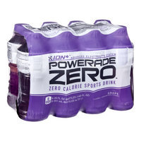 Powerade Zero Ion4 Grape Sports Drink - 8 CT