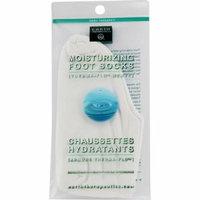 Earth Therapeutics Moisturizing Foot Socks White 1 Pair