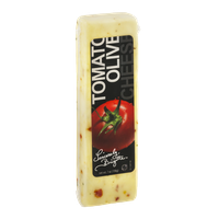 Sincerely, Brigitte Tomato Olive Cheese