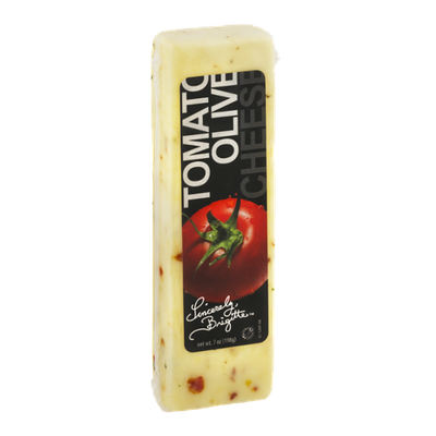 Sincerely, Brigitte Tomato Olive Cheese