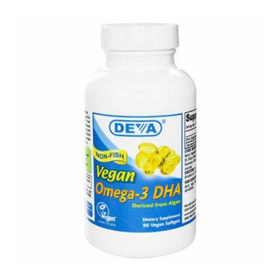 Deva Vegan Vitamins Deva 233924 Vegan Omega-3 DHA - 90 Vegan Softgels