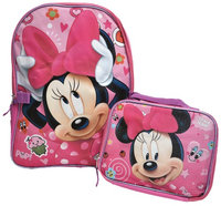 Minnie's Bow-tique Minnie Mouse Backpack & Lunch Box