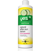 Yes To Cucumbers Natural After-Sun Serum with Shimmer