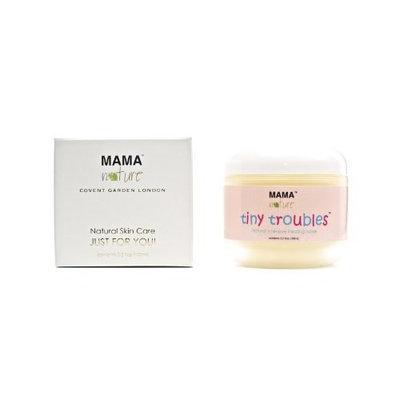 Diaper Rash Ointment Tiny Troubles Natural Intensive Healing Salve by Mama Nature of London (3.5 floz) - Diaper Rash,Baby Eczema,Baby Psoriasis,Baby Rosacea,Dry Skin,Sweat Rash