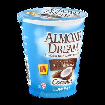 Almond Dream Almond Non-Dairy Yogurt Low Fat Coconut