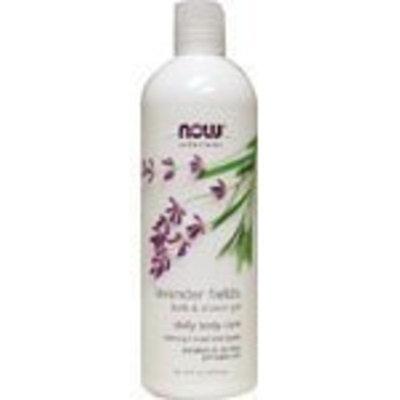 NOW Foods - Lavender Fields Bath & Shower Gel 16 oz