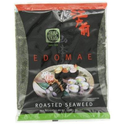 Yamamotoyama Edomae Roasted Seaweed Nori, 0.88-Ounce Bags (Pack of 8)