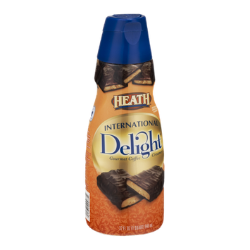 International Delight Gourmet Coffee Creamer Heath