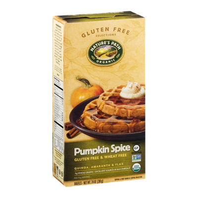 Nature's Path Waffles Pumpkin Spice - 6 CT