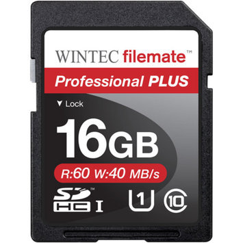 FileMate Wintec Filemate Professional Plus 16GB SDHC UHS-1 Memory Card