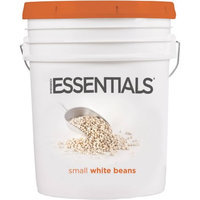 Emergency Essentials SuperPail Small White Beans, 44 lbs