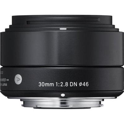 Sigma 30mm f/2.8 DN Lens for Micro Four Thirds Cameras (Black)