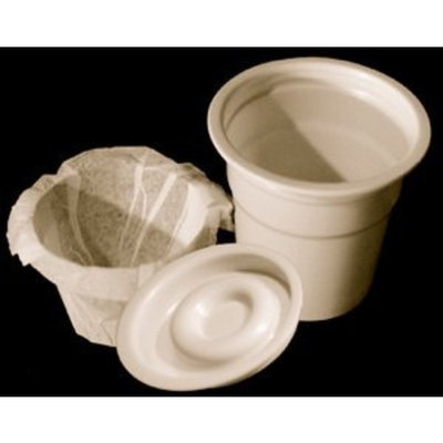 DisposaCups - Disposable Cups for use in Keurig® Brewers - 50 Cups, Lids, Filters - 100% Disposable