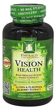 Emerald Labs - Vision Health - 60 Vegetarian Capsules