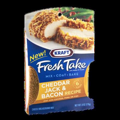 Kraft Fresh Take Cheddar Jack & Bacon Cheese Breadcrumb Mix