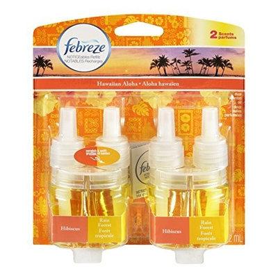 Febreze Noticeables Air Freshener Refill, Hawaiian Aloha, 1.758 Ounce, 2 Count