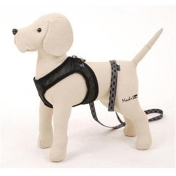 Petego Egr Llc Petego Airness Harness and Leash for Dogs, X-Small, Black