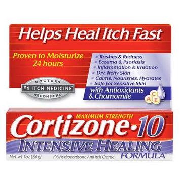 Cortizone 10 Intensive Healing Formula 1% Hydrocortisone Anti-Itch Creme, 1.25 oz
