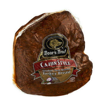 Boar's Head Cajun Style Smoked Oven Roasted Turkey Breast