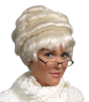 Alicia Beauty Enigma Wigs 00015 WHT Ultra-Luxurious Remy Mrs. Santa Wigs