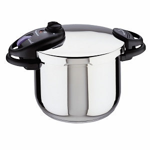 Magefesa Ideal Stainless Steel Super Fast Pressure Cooker 8 Qt.