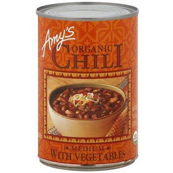 Amy's Kitchen Amy's Medium Chili With Vegetables, 14.7 oz (Pack of 12)
