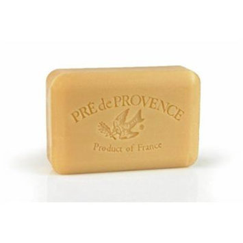 Two Bar Set, Pre de Provence Soap Shea Enriched Everyday 200 Gram Large French Soap Bar - Sandalwood