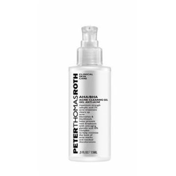 Peter Thomas Roth #1 Beta Hydroxy Acid 2% Acne Wash 2 fl oz and #2 AHA/BHA Acne Clearing Gel .5 oz This MINI ACNE KIT is for Acne treatment, Acne face body wash, for teens, adults and mature users. Aha bha cleanser, acne clearing gel, beta hydroxy acid...