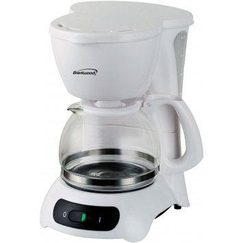 Brentwood Appliances TS-212 4-Cup Coffee Maker - White