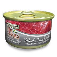 Canidae Life Stages Yellowfin Tuna Canned Cat Food, 3 oz.
