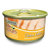 Canidae Life Stages Chicken Canned Cat Food, 3 oz.