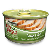 Canidae Life Stages Turkey Canned Cat Food, 3 oz.