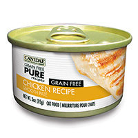 Canidae Grain Free Pure Recipes Chicken Canned Cat Food, 3 oz.
