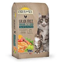 Under the Sun Grain Free Indoor Formula Dry Cat Food