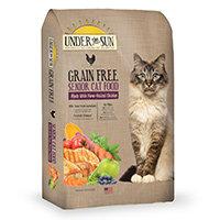 Under the Sun Grain Free Senior Formula Dry Cat Food