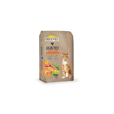 Under the Sun Grain Free Kitten Formula Dry Cat Food