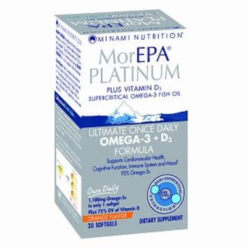 Minami Nutrition MorEPA  Platinum Omega-3 Fish Oil + D3