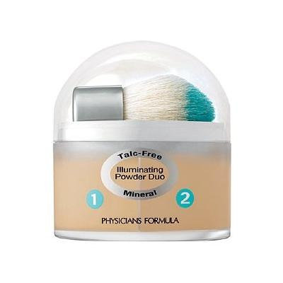 Physicians Formula Mineral Wear Duo Talc Free Mineral Illuminating Powder, Natural/Beige 7028 0.35 oz (10 g)