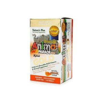 Nature's Plus Animal Parade Gold Children's Chewable Multi-Vitamin & Mineral, Orange 120 ea