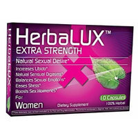 HerbaLUX for Women - Extra Strength - 100% Natural & Herbal Female Sexual Enhancement Pill. Contains High Quality Ingredients, Chosen Carefully to Provide Superior Performance