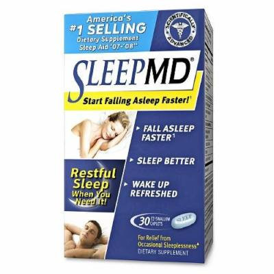 MD Products SleepMD, Caplets 30 ea Pack of 6