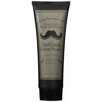 Body prescriptions after shave - shaving balm - clean citron - 8.1 fl oz - 180 ml - gentlemen's fine grooming