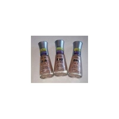 Wet N Wild Rock Solid Nail Lacquer 222 Amazing Amber (Pack of 3)