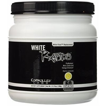 Controlled Labs White Rapids Powder, Electric Lemonade, 13.76 Ounce
