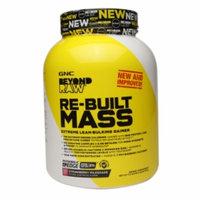 Gnc Beyond Raw GNC Beyond RAW Re-Built Mass, Strawberry Milkshake, 4.8 lbs
