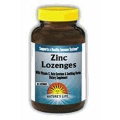 Zinc Lozenge - Orange Mint - Vegetarian Nature's Life 25 Lozenge