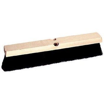 Weiler 18-inch Medium Sweep Black Tampico Floor Brush