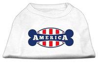 Ahi Bonely in America Screen Print Shirt White XL (16)