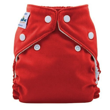 FuzziBunz Perfect Size Cloth Diaper, Watermelon, Small 7-18 lbs (Discontinued by Manufacturer)